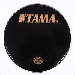 Tama - Naciąg rezonansowy czarny z logo 20''