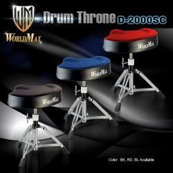 WorldMax - Stołek perkusyjny D-2000SC Blue