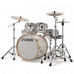 Sonor - perkusja AQ2 Maple Stage set WM - White Pearl