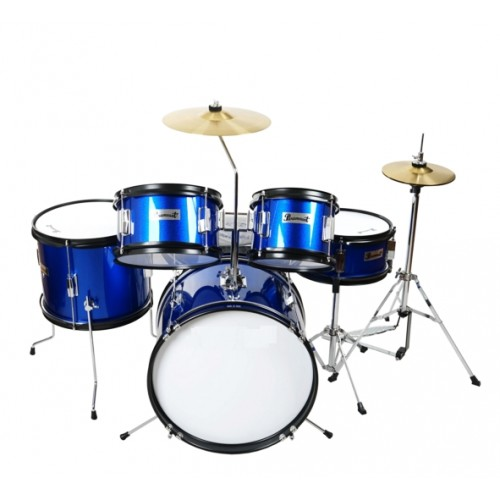 Ever Play - perkusja dla dzieci Junior Kit JBJ-1046 Metallic Blue