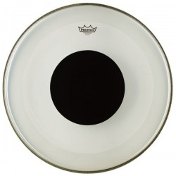 Remo - naciąg Powerstroke 3 Bass Black Dot Clear 20''