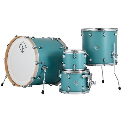 "Dixon - perkusja Cornerstone Maple  22"" - Quetzal Blue shellset"