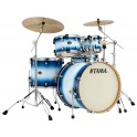 Tama - perkusja Silverstar Custom Shellset 52KR-JTB Jet Blue Burst