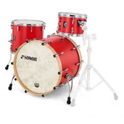 Sonor - perkusja SQ1 322 Shellset Hot Rod Red