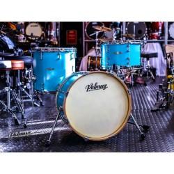 Polmuz  - perkusja Tulipwood (18 12 14) Aqua Blue Lacquer