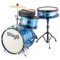 Stagg - perkusja dla dzieci Junior TIM-J-3/12-BL