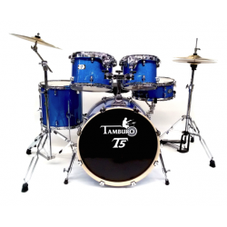Tamburo - perkusja T5  Fusion S22 + hardware + statyw GRATIS!