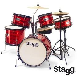 Stagg - perkusja dla dzieci Junior TIM JR 5/16 RD