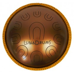 "LunaDrums - Handpan CHANDRA 17""  (D minor)"