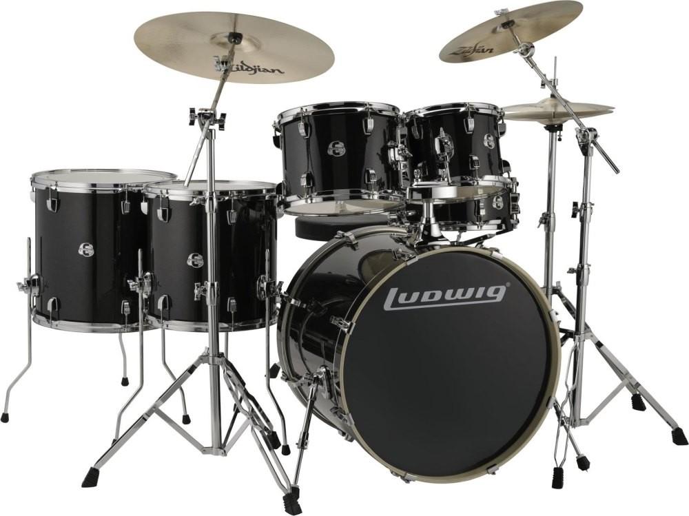 "Ludwig - perkusja Evolution Maple 22"" LCEM622XTB Shellset"