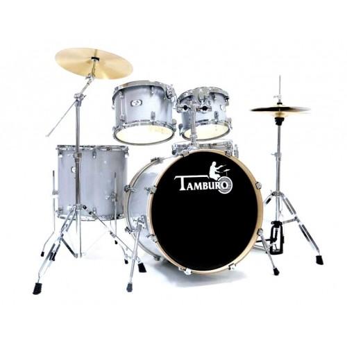 Tamburo - perkusja T5 Jazz S18 + hardware i talerze