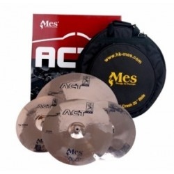 Mes - zestaw talerzy ACT Rock Set 14'' 16'' 20'' + pokrowiec