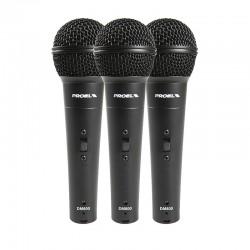 Proel - zestaw mikrofonów dynamicznych DM800KIT