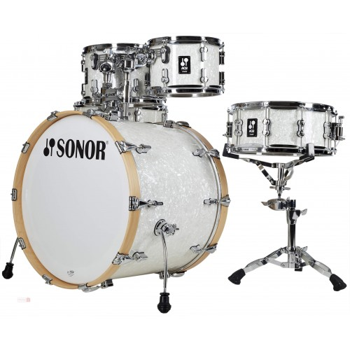 Sonor - perkusja AQ2 Maple Studio set WM - White Pearl