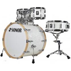 Sonor - perkusja AQ2 Maple Studio set WM - White Pearl