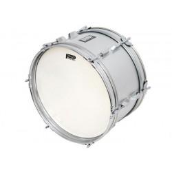 Power Beat - Bęben marszowy 16''x8'' - srebrny - CPK-505/16