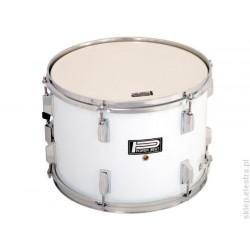 Power Beat - Werbel marszowy 14''x10'' - biały - CPK-507