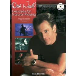 Carl Fischer - Dave Weckl '' Exercises for Natural Playin'' książka/CD