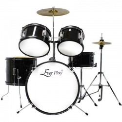 Ever Play - perkusja dla dzieci Junior Kit JBJ-1046 Black