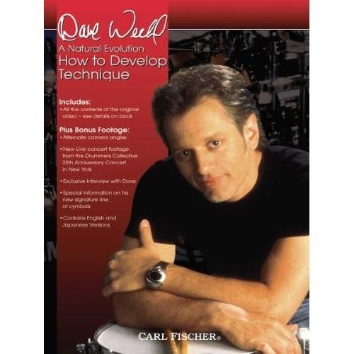 Carl Fischer - Dave Weckl ''How To Develop Technique'' DVD