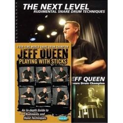 Hudson Music - Jeff Queen ''Playing With Sticks''  książka / DVD