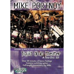 Hudson Music - Mike Portnoy ''Liquid Drum Theater'' 2 DVD