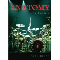 Hudson Music - Neil Peart ''Anatomy of a Drum Solo''  2 DVD