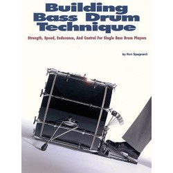 Modern Drummer - Ron Spagnardi ''Building Bass Drum Technique''  książk