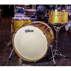 Polmuz - perkusja Maple 24 13 16 Dark Gold Sparkle