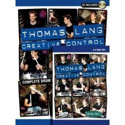 Hudson Music - Thomas Lang - Creative Control - książka / 2xDVD + 2xCD