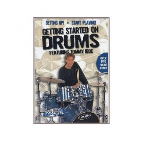 Hudson Music - Tommy Igoe  ''Getting Started On Drums'' 1 DVD