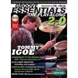 Hudson Music - Tommy Igoe ''Groove Essentials 2.0'' książka / CD