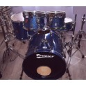 "Premier - Classic Maple Rock Shellset 22"" - Nowegian Blue Sparkle"