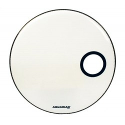 Aquarian - naciąg Offset Ported Bass 18'' White