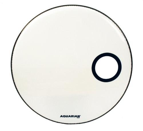 Aquarian - naciąg Offset Ported Bass 24'' White