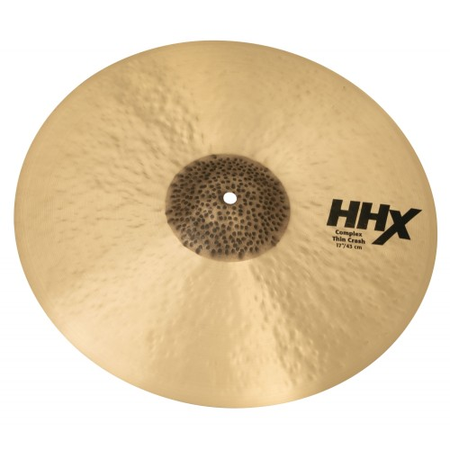 "Sabian - HHX Complex Thin Crash 17"""