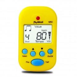 Meideal - metronom cyfrowy M50 Yellow