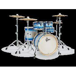 Gretsch - perkusja Catalina Limited CS1-E625-BSD Blue Silver Duco - Shellset
