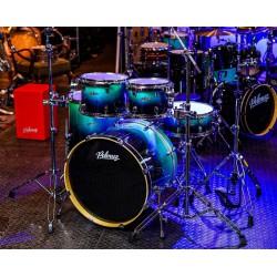 "Polmuz - perkusja Model 3 Birch 22"" Blue To Black Fade + hardware"
