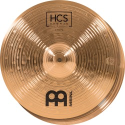 "Meinl - HCS Bronze Hi-hat 14"" HCSB14H"