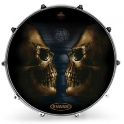 Evans - Naciąg rezonansowy Inked - Seers Of Calix 22''