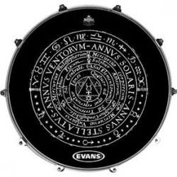 Evans - Naciąg rezonansowy Inked - Solaris Chart 22''
