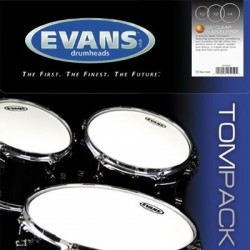 Evans - naciągi G2 Clear TomPack Standard zestaw 12'' 13'' 16'