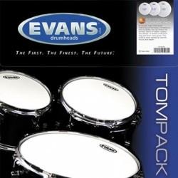 Evans - naciągi G2 Coated TomPack Fusion zestaw 10'' 12'' 14''