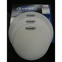 Evans - naciągi G2 Coated TomPack Rock zestaw 10'' 12'' 16''