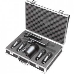 Stagg - Zestaw 7 mikrofonów do perkusji DMS-5700
