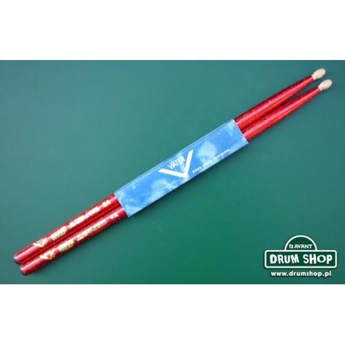 Vater - pałki Color Wrap Red Sparkle 5A