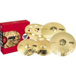 Sabian - HHX Evolution Set 14'' 16'' 20'' + O-zone 18 GRATIS