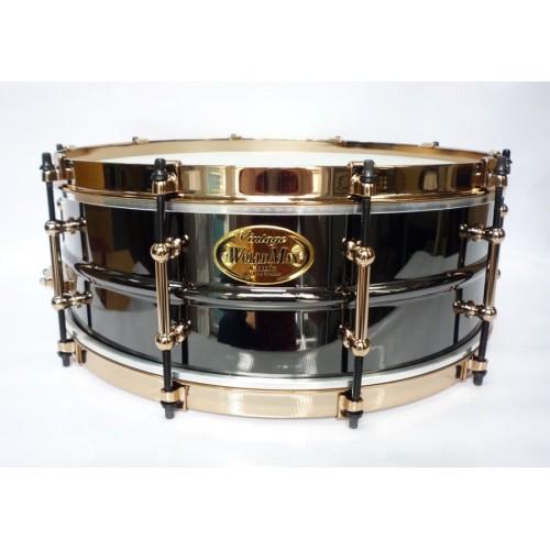 "WorldMax - werbel Vintage Classic Brass ''Black Dawg'' 14''x5"" Gold"