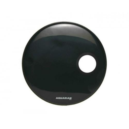 Aquarian - naciąg Regulator z otworem RSM 24'' Black
